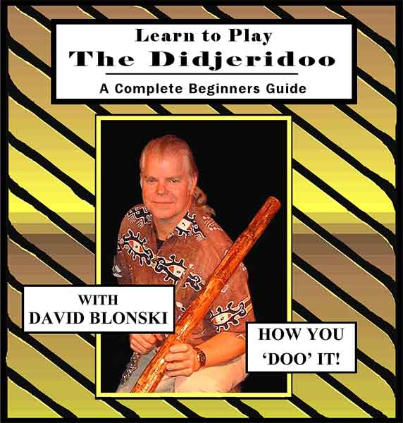 How to Play the Didgeridoo - CD